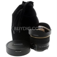 Rokinon 8mm f/3.5 Aspherical Fisheye Lens for Canon DSLR Cameras