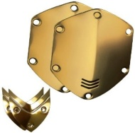V-MODA Crossfade Over-Ear Headphone Metal Shield Kit (Gold)