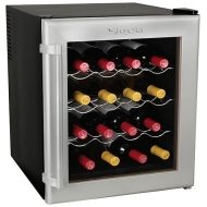 EdgeStar 16 Bottle Deluxe Wine Cooler with Wood Shelves