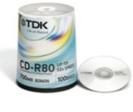 Tdk- Cd-r 80min/700mb Cakebox Pack Of 50