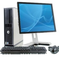 Wireless Enabled Dell Optiplex 780 Desktop PC - Intel E7500