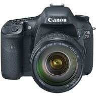 Canon EOS 7D Digital SLR With EF  28-135mm f/3.5-5.6 IS USM Lens