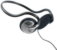GE 95352 Lightweight Behind-the-Neck Headphone (Black)