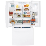 GE Profile PDS22MFW 22.2 CuFt Bottom-Freezer Refrigerator