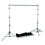 "Interfit Photographic Background Support System, 102"" x 124"" with Carry Bag."