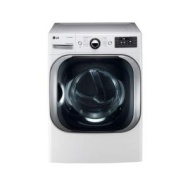 LG White Front Load Dryer DLEX8000W
