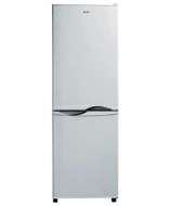 Bush HD220RWN Frost Free Fridge Freezer - Silver.
