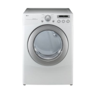 LG Electronics 7.1 cu. ft. Electric Dryer in White DLE2250W