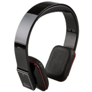 7dayshop R7 Premium High-Fidelity Wireless Bluetooth Headphones - Gloss Black - Ideal For use with Android Tablets, Laptops, Ipad, Blackbe