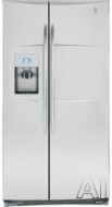 GE Freestanding Side-by-Side Refrigerator PCF23RGW