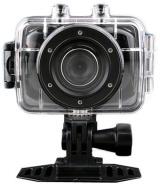 """Hd2"""" lcd tactile étanches casque sport caméra vidéo digital action cam dv dvr caméscope pour vélo/plongée/surf/ski,/parachutisme - noir"""