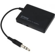 JUSTOP BTR006 Bluetooth Wireless Stereo Audio Receiver With 3.5MM Jack, Universal Adapter For Speakers, New Module with Bluetooth V2.1 A2DP profile