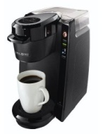 Mr. Coffee BVMC-KG5-001 Single Serve Coffee Brewer Powered by Keurig Brewing Technology, Black