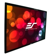 "Elite Screens 150 Inch 16:9 SableFrame High Gain Fixed Projection Screen (73.6""Hx130.7""W)"