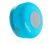 KINGLAKE® Waterproof Wireless Bluetooth Shower Speaker Handsfree Speakerphone Compatible with All Bluetooth Devices Iphone 5s and All Android Devices