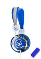 Urbanz Talkz Headphones with Mic for iPhone, Mobiles, iPod, MP3 - Blue