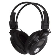 ZONOKI Z860 HI-FI Folding Wireless Headphone with Built-in MP3 Player & FM Radio (Wireless Audio Gadget) By Koolertron