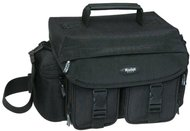 Kodak Gear Crinkle Nylon Mid-Size Video/Photo Bag (Black)