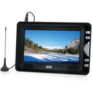 """August DTV705 7"""" High Resolution Freeview LCD TV & PVR Recorder / Media Player / Photo Displayer - Powered by Mains or Rechargeable Batteries (Interna"""