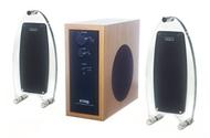 FPS 200A 2.1 Computer Speakers (3-Speaker, Acrylic)