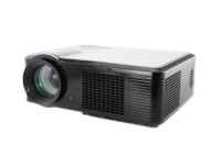 FULL black HD PROJECTOR 1080P 2000LUMENS CONTRAST 1000:1 SUPPORTS HDMI,USB,DTV