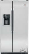 GE Freestanding Side-by-Side Refrigerator CSCP5UGXSS