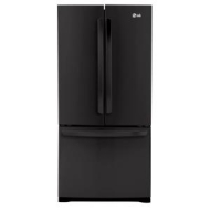 LFC25765SB LG Ultra-Large Capacity 3-Door French Door Refrigerator with Smart Cooling - Black