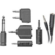 Maxell HP-21 Headphone/Cell Phone Adapter Kit  190398