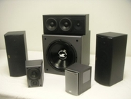 M&amp;K 5.1 Matched THX 750 / K4 / VX1250 Complete Home Theater System