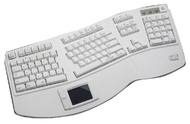 Adesso Tru-Form MAC USB Keyboard with Touchpad