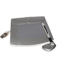 DigiPro USB 4x3-Inch Graphics Tablet with Cordless Stylus Pen