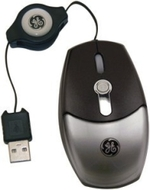 GE 98094 Retractable Mini Optical Mouse