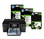 HP Photosmart Premium e-All-in-One plus Up to a year's worth of HP Ink