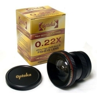 Opteka .22x Hi-Def Fisheye Lens for Canon EOS 20D 10D Digital Rebel 1D
