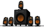 Rude Gameware Primal 5.1 Speaker System with 2.4GHz Wireless Surround Sound