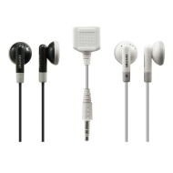 Sentry HO216 In-Ear Buds with Splitter - 2 Pack