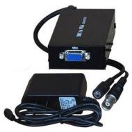 VideoSecu Portable Video RCA BNC Console to PC VGA Monitor Converter Adapter Switch Box 3L9