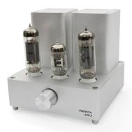 APPJ PA0901A EL84+12AX7 Mini tube Amplifier ( Original miniwatt N3 ) Silver