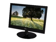 Famous Brand W2040T-PN Glossy Black 20' 5ms Widescreen LCD Monitor