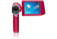 Gigaware™ HD 1080p Camcorder (Red)