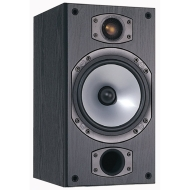 Monitor Audio M2 Speaker (Black Oak Vinyl, Pair)