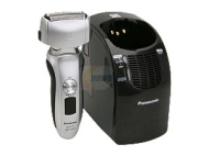 Panasonic - Arc3 Wet/Dry Pivoting-Head Shaver with Nanotech Blades - Silver ES-LT71-S