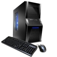 iBUYPOWER Gamer Power A561D3 Gaming Desktop - Black