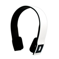 Panther Bluetooth Stereo Headphones For iPhone/iPad/Android Phones/Android Tablets (White)