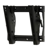 Tilt Wall Mount for 13 inch to 37 inch LCD Flat Panel Screens - Black