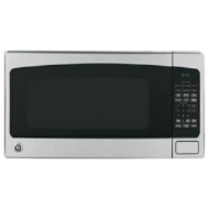 GE - 1.8 Cu. Ft. Full-Size Microwave - Stainless-Steel JEB1860SMSS