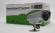 GERMAN BRAND! INSTAR IN-2905 PoE Version (silver) IP Camera with 24 IR LED Nightvision, FTP and Email Alarm, Motion Detection and PoE (Pow
