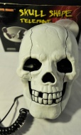 Fearful Skull Shape Novelty Telephone Flashing Phone
