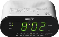 Sony ICF-C218W - Clock radio - white