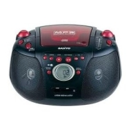 SANYO MCD-UB 275MB ,Stereo Radio CD,REMOTE CONTROL, MP3 PLAYBACK, with USB /SD Data playback. AC/DC etc.